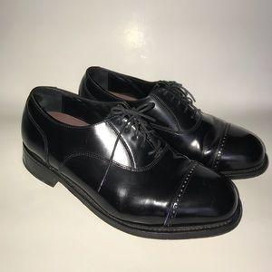 Florsheim men's dress shoes color red wine 9.5